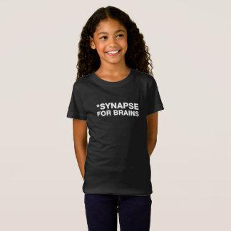 SYNAPSE FÜR GEHIRNE - WEISSE FRONT T-Shirt