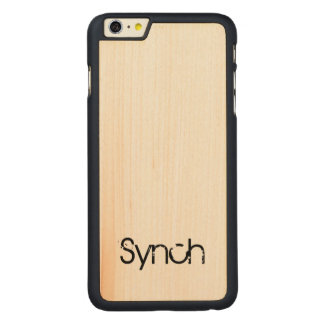 Synch iPhone 6/6s plus Fall Carved® Maple iPhone 6 Plus Hülle