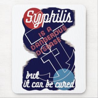 Syphilis ist eine gefährliche Krankheit Mauspad