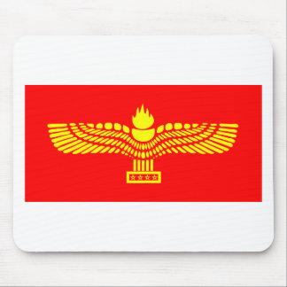 Syriac Aramäisch-Flagge Mauspad
