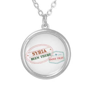 Syrien dort getan dem versilberte kette