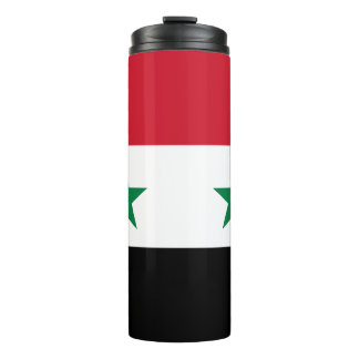 Syrien-Flagge Thermosbecher