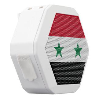 Syrien-Flagge Weiße Bluetooth Lautsprecher
