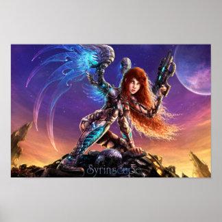 Syrinscape Sciencefiction-Sirene-Plakat Poster
