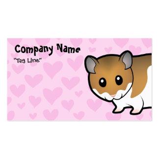 Syrische Hamster-Liebe Visitenkarten