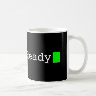 Systems-bereite Retro Computer-Schriftart-Tasse Kaffeetasse