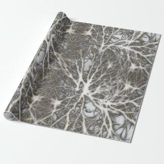 Systems-Neuronen gesund Geschenkpapier