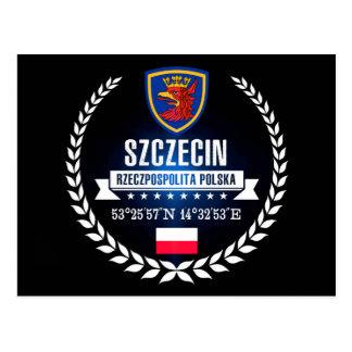 Szczecin Postkarte