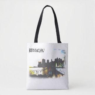 Szene Brooklyns der Hudson Tasche