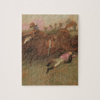 Szene Edgar Degass | vom Steeplechase Puzzle
