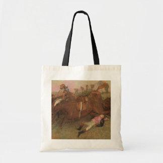 Szene Edgar Degass | vom Steeplechase Tragetasche