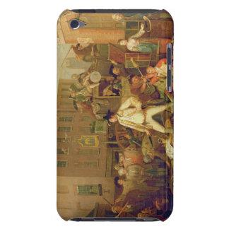 Szene in einer London-Straße, 1770 (Öl auf Leinwan iPod Case-Mate Hüllen