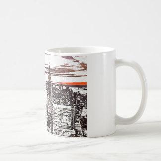 Szene Kaffeetasse