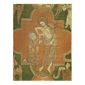 Szene vom Leben von Christus, Detail von Syon Postkarte