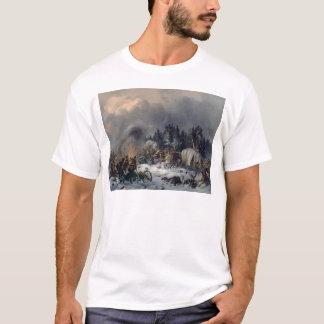Szene vom Russisch-Französischen Krieg im Jahre T-Shirt