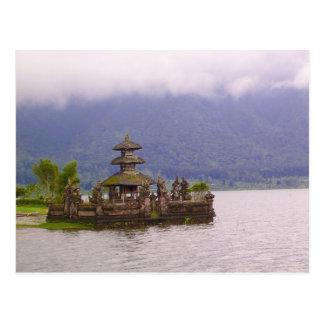 Szene von Bali Postkarte