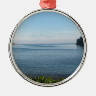 Szene von Peacefulness Silbernes Ornament