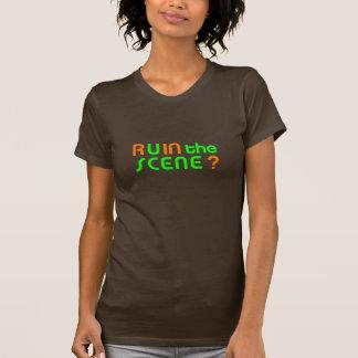 Szene zierliches OG T-Shirt