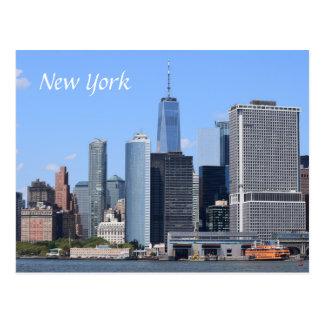 Szenen-Ansicht USA Amerika New York City Postkarte