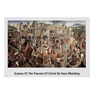 Szenen der Leidenschaft von Christus durch Hans Poster