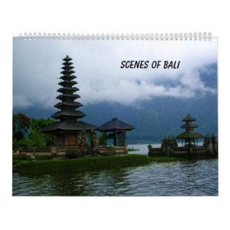 Szenen von Bali Wandkalender