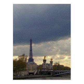 Szenen von Paris Postkarte