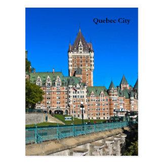 Szenen von Québec-Stadt Postkarte