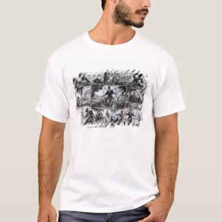 "Szenen von ""Robinson Crusoe"" durch Daniel Defoe T-Shirt"