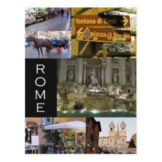 Szenen von Rom-Postkarten Postkarte