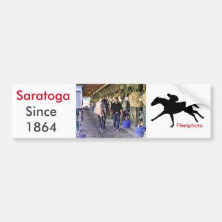 Szenen von Saratoga Autoaufkleber