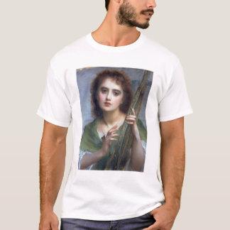 T31601 eine Dame mit Lyre (Platte) T-Shirt