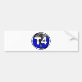 T4 AUTOAUFKLEBER