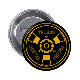 :: T EG H N O:: Standard - 5,7 cm runder Knopf Runder Button 5,7 Cm