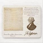 T. Jefferson: Meinung u. Grund - Mousepad