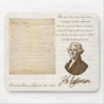 T. Jefferson: Wahrheit u. Zeitungen - Mousepad