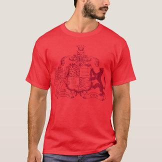 T-Katzen Wappen - Rot T-Shirt