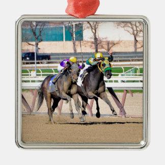T-Lieben ein Kampf #3 Silbernes Ornament