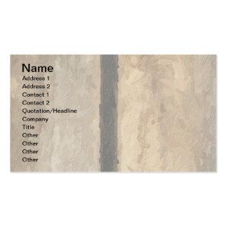 T-Monogramm auf Painterly hölzernen Brettern Visitenkarten