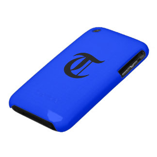 """T-"" Monogramm iPhone 3 Case-Mate Hüllen"