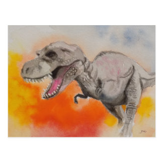 T-rex 1 postkarten