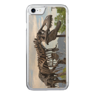 T-Rex Carved iPhone 8/7 Hülle