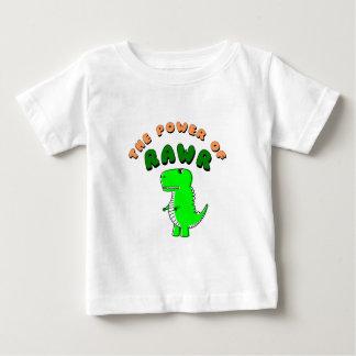 T-Rex der Power von RAWR Baby T-shirt