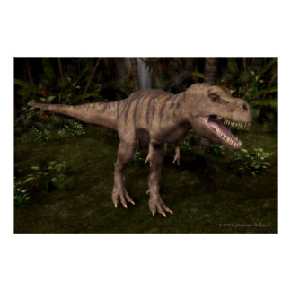 T-Rex Dinosaurier Poster