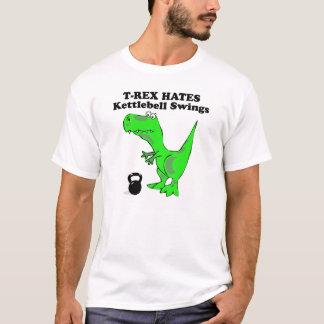 T-Rex Hass-Kesselglocke schwingt T-Shirt