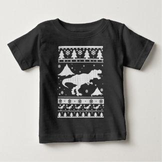 T-Rex hässliches Weihnachten Baby T-shirt