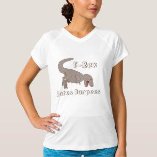 T-Rex hasst Burpees T-Shirt
