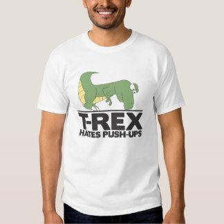 T-Rex hasst Pushupshemd Tshirt