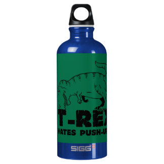 t rex hasst StoßUPS Wasserflasche