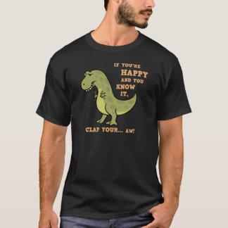 T-Rex Klatschen II T-Shirt