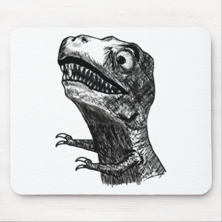 T-Rex Raserei Meme - Mousepad